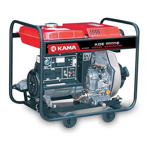 小型家用发电柴油kde6500e凯马发电机 便携移动风冷单缸发电机组